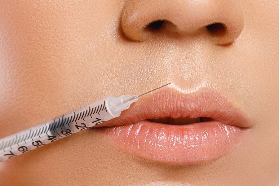 مراقبتهای بعد از تزریق ژل لب